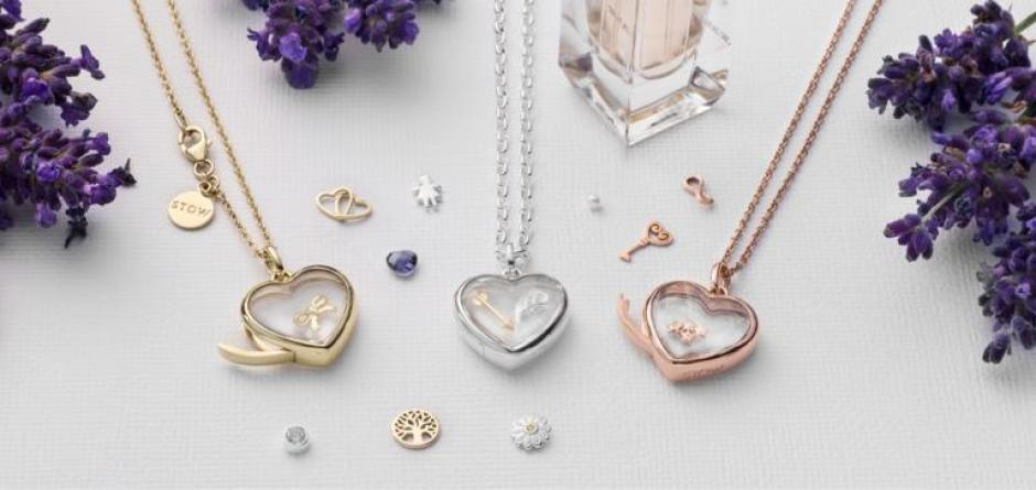Stow Heart Lockets