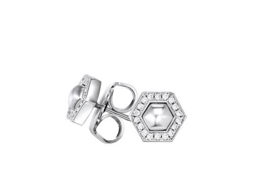 Kagi Sterling Silver Geometry Stud Earrings image