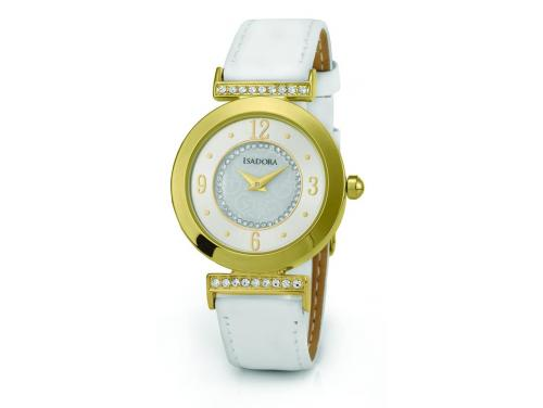 Isadora Altea Gold & White Watch image