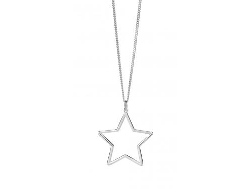 Karen Walker Stg Star Outline Pendant image