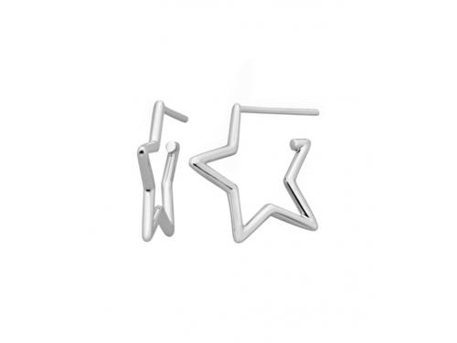 Karen Walker Stg Star Outline Earring image