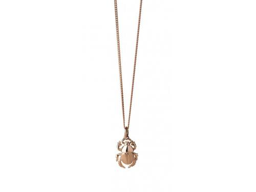 Karen Walker 9ct Rose Beetle Necklace image