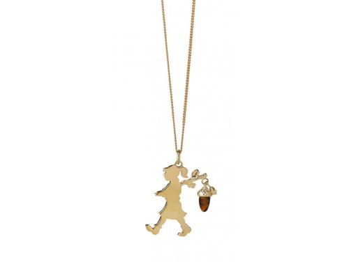 Limited Edition Karen Walker 9ct Girl With An Acorn image