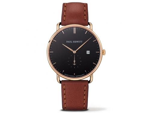 Paul Hewitt Grand Atlantic Line Gold/Brown Watch image