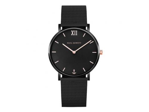 Paul Hewitt Sailor Line Black/Rose Watch image