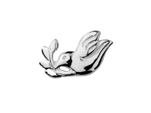 Stow Stg Dove Charm image