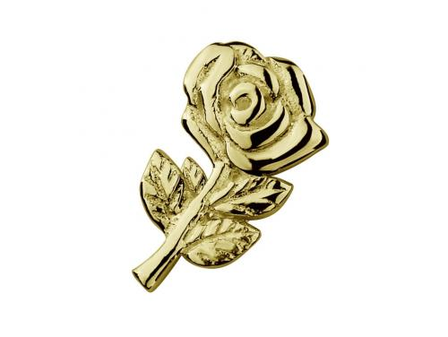 Stow 9ct Rose Charm image