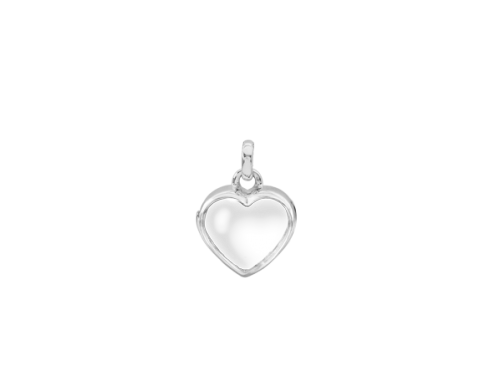 Stow Sterling Silver Petite Heart Locket image
