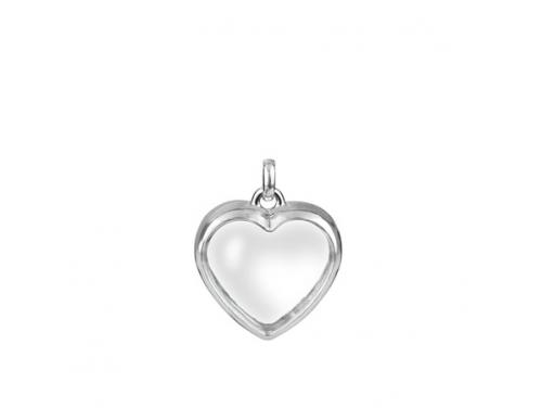 Stow Sterling Silver Heart Locket image
