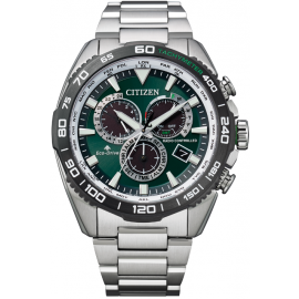 Citizen Gents Eco Drive Promaster Land Chronograph Watch image