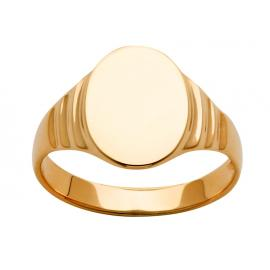 9ct Oval Signet Ring image