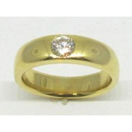 18ct Solitaire Set Diamond Band TDW 0.44CT image