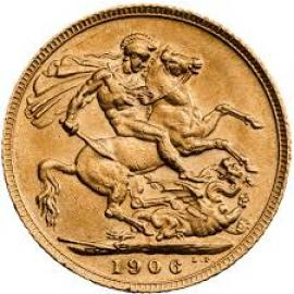 1906 Sovereign Coin image