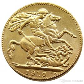 1910 Sovereign Coin image