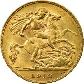 1913 Sovereign Coin image