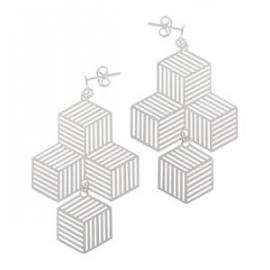 Stg Escher Box Drop Earrings image