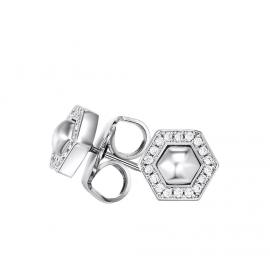 Kat Gee Sterling Silver Geometry Stud Earrings image