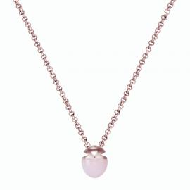 Kat Gee Sterling Silver Rose Petite Amulet Necklace image