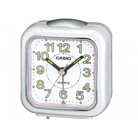 Casio Desk Alarm Clock - White image