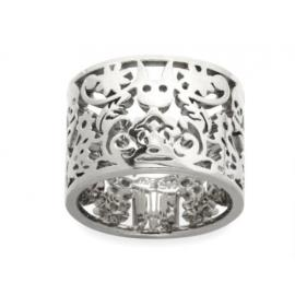 Karen Walker Stg 15mm Wide Filigree Band image