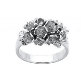 Karen Walker Stg Flower Cluster Ring image