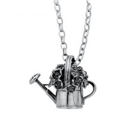 Karen Walker Stg Watering Can Flowers Pendant image