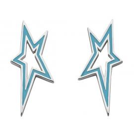 Karen Walker Stg Star City Earrings image