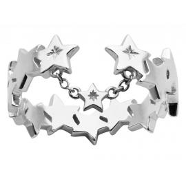 Karen Walker Stg Supernova Open Ring image