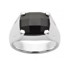 Karen Walker Stg Checkerboard Onyx Ring image
