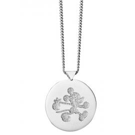 Limited Edition Karen Walker Stg Runaway Mickey Stamp Pendant image