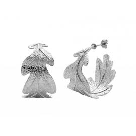 Karen Walker Stg Oak Leaf Earrings image