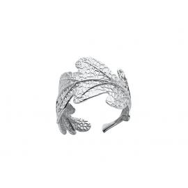 Karen Walker Stg Oak Leaf Ring image