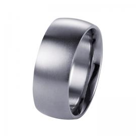 Stainless Steel Brushed 9mm Ring image