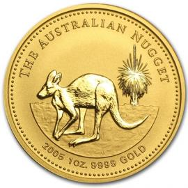 2005 1/20oz The Australian Nugget Australian Coin image