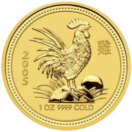 2005 1/20oz Year of the Rooster Australian Coin image