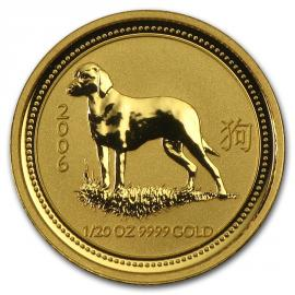 2006 1/20oz Year of the Dog Australian Coin image