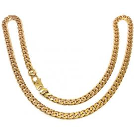 9ct Flat Curb Chain 56cm image