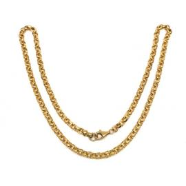9ct Square Belcher Chain 46cm image