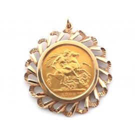 1909 Sovereign Pendant image