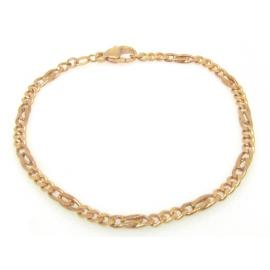 9ct Rose Fancy Curb Bracelet image