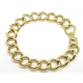 9ct Heavy Rounded Curb Bracelet image