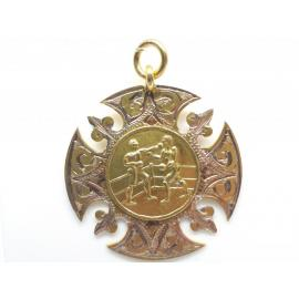 9ct Boxing Medal image