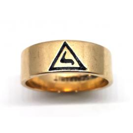 10ct Masonic Ring image