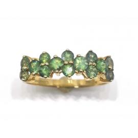 14ct Green Sapphire Dress Ring image
