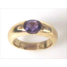9ct Amethyst dress ring image