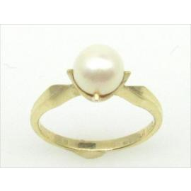 9ct Cultured Pearl Ring image