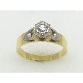 18ct Diamond Solitaire Ring TDW 0.25CT image