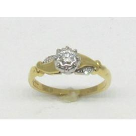18ct Diamond Solitaire Ring TDW 0.18CT image