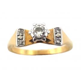 18ct Solitaire Diamond Ring TDW 0.16CT image
