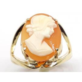 9ct Cameo Ring image